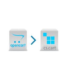 Opencart to CS-Cart Migration