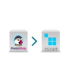 Prestashop to CS-Cart Migration