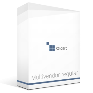 Cs-cart MultiVendor Regular Software - 1 Domain